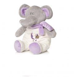 Csörgők kisbabáknak - Plüss bébi elefánt csörgős nagy lila Artesavi