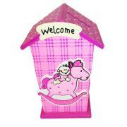 Ajándék- Persely baby rózsaszín