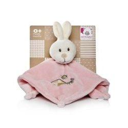 Ajándékötletek csecsemőknek - Csücsközők - Nyálkendő nyuszifejes rózsaszínű