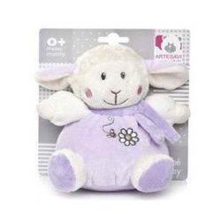 Baby játékok és kellékek - Bárány csörgős lila
