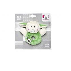 Bébijátékok - Csörgők - Csörgős baby bárány, zöld, Artesavi