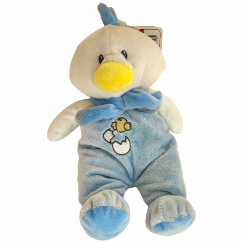Csörgők kisbabáknak - Plüss bébi kacsa csörgős nagy kék Artesavi