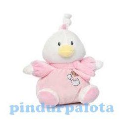 Zenélő játékok - Felhúzó kacsa - Rózsaszín