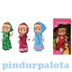 Mása és a medve - Mása baba színes ruhában - Simba Toys játékok