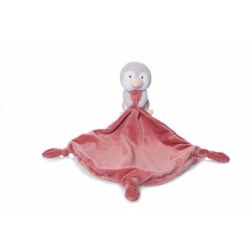Baba játékok - Artesavi morzsolgató nyál kendő babáknak pingvines