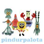 Plüss mesefigurák - Spongyabob és barátai, Patrik