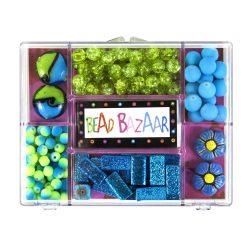 Fűzős játékok gyerekeknek - Gyöngyök - Fa golyók - Bead Bazaar Gyöngy csokor - virág
