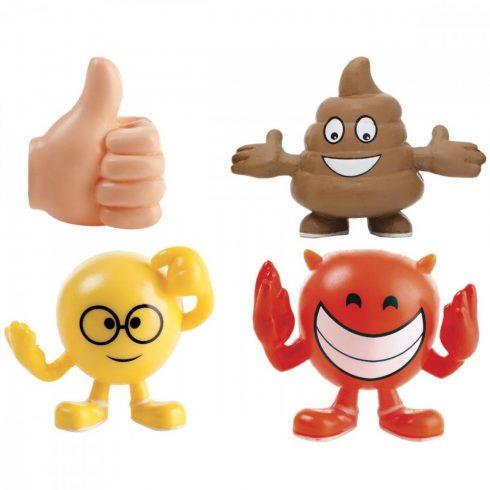 Gyűjthető figurák - Imoji Figurines 3 db-os Emoji figura bliszteres TM Toys