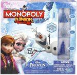 Társasjátékok gyerekeknek - Hasbro Monopoly Junior Jégvarázs Társasjáték