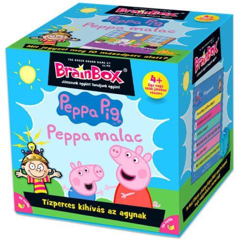 Műveltség fejlesztő játékok - Kvíz társasjátékok - Peppa Malac Brainbox Társasjáték