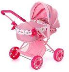 Játékbabák - Bababútorok - Babahordozó rózsaszín