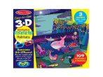 Matricák gyerekeknek - 3D természet matricák Melissa & Doug