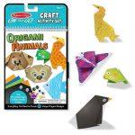 Kreatív Hobby - Melissa & Doug - Papírművészet origami állatok