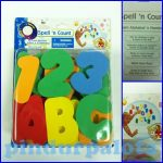 Fürdetős Játékok - Kád játékok - Csempére ragasztható habszivacs betűk fürdő játék
