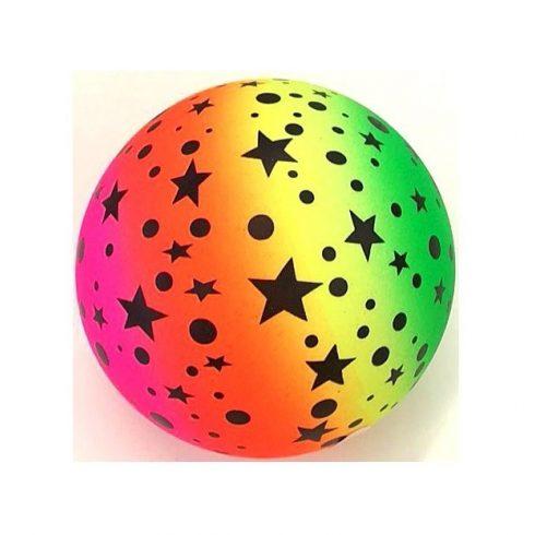 Labdák - Játékok gyerekeknek - Gumilabda csillag szív 140mm