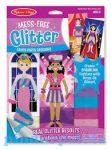 Rajzkészség fejlesztő játékok - Kreatív játék, Glitter divattervező képkészítő, Melissa & Doug
