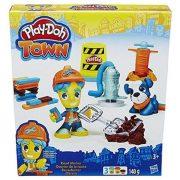 Kreatív hobby - Gyurmák - Play Doh Város Útépítő gyurmaszett