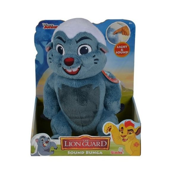 Interaktív játékok - Lion guard Bunga plüss 35 cm