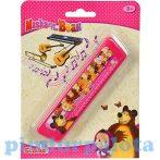Játék hangszerek gyerekeknek - Masha a medve hangszer szájharmonika Simba Toys