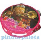 Játék hangszerek gyerekeknek - Masha a medve hangszer tamburin Simba Toys