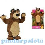 Interaktív játékok gyerekeknek - Masha táncoló medve 32cm Simba Toys
