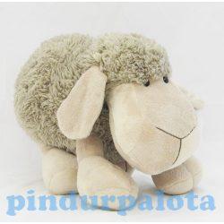 Plüss állat - Plüss bárány lógó lábú szürke 30 cm