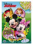 Matricák gyerekeknek - Disney Junior színezhető matrica 24 lapos