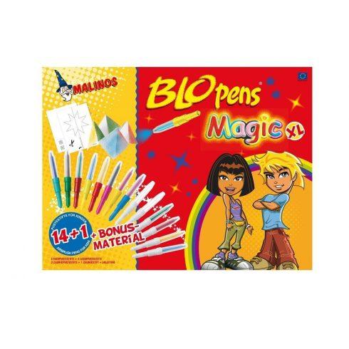 Írószerek - Malinos kreatív varázs - Blopens festékszóró 14 szín