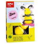 Kreatív hobby készletek - Apli Kids - Méhecske figura készítő