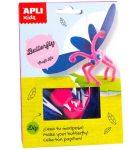 Kreatív hobby készletek - Apli Kids - Pillangó figura készítő