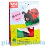 Kreatív hobby készletek - Apli Kids - Katicabogár figura készítő