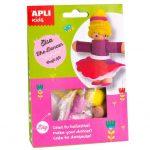 Kreatív hobby készletek - Apli Kids - Elsa a táncos figura készítő