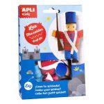 Kreatív hobby készletek - Apli Kids - Leo a katona figura készítő
