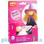 Kreatív hobby készletek - Apli Kids - Glenda a boszorkány készítő