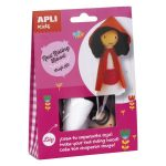 Kreatív hobby készletek - Apli Kids - Piroska figura készítő