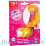 Kreatív hobby készletek - Apli Kids - Lea hercegnő figura készítő