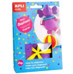 Kreatív hobby készletek - Apli Kids - Cirkuszi elefánt készítő