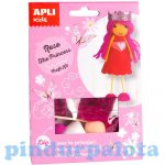 Kreatív hobby készletek - Apli Kids - Rose hercegnő figura készítő