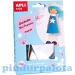 Kreatív hobby készletek - Apli Kids - Isabella hercegnő figura készítő