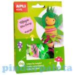 Kreatív hobby készletek - Apli Kids - Maya tündér figura készítő