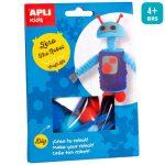 Kreatív hobby készletek - Apli Kids - Zero a robot figura készítő