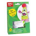 Kreatív hobby készletek - Apli Kids - Ras a szörny figura készítő