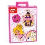 Kreatív hobby készletek - Apli Kids - Hercegnő kifestő figura