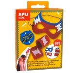 Kreatív hobby - Készletek - Apli Kids - Szuperhős maszk készítő villám