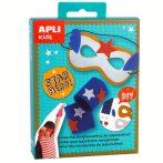 Kreatív hobby - Készletek - Apli Kids - Szuperhős maszk készítő