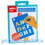 Kreatív hobby készletek - Apli Kids - Sablonok betűk