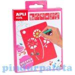 Kreatív hobby készletek - Apli Kids - Sablonok formák