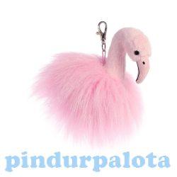 Ajándékok divatos termékek gyerekeknek - Flamingó táskadísz Luxe Boutique Ava