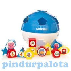 Pocoyo Formabedobó gömb babáknak