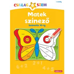 Könyvek - Matek színező-Számolás 10-ig